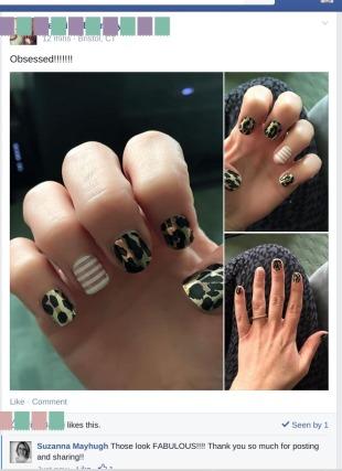 Gold Leopard Jen Bromley Testimonial