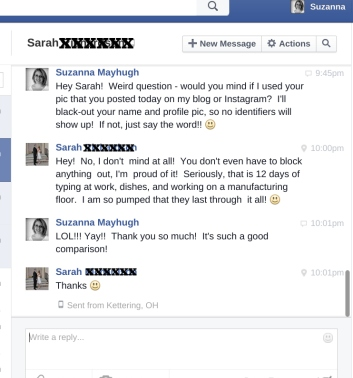 Sarah - Further Testimonial for 12 day comparison