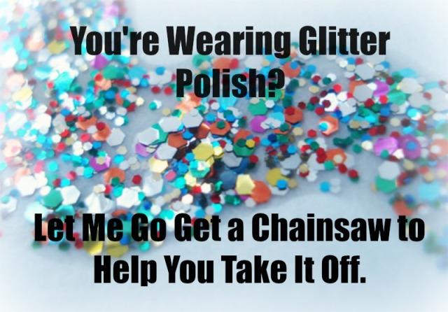 Glitter Polish Meme