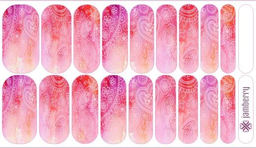 Pink Paisley NAS