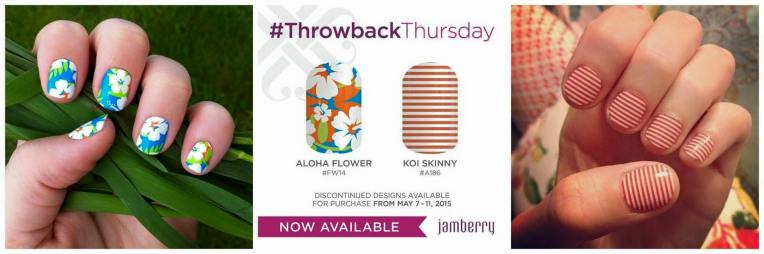 Aloha and Koi Throwback