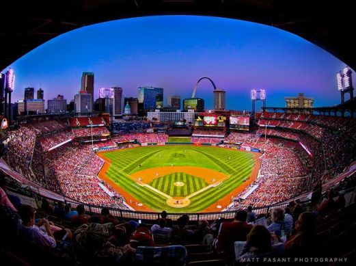 Busch Stadium - Photo by Matt Pasant, www. pasant.com