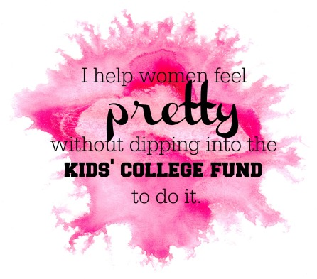 Help feel pretty - college