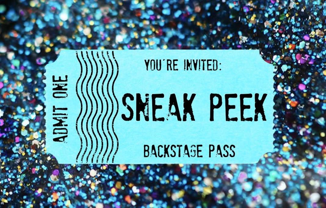 Sneak peek confirmed for tommorrow!