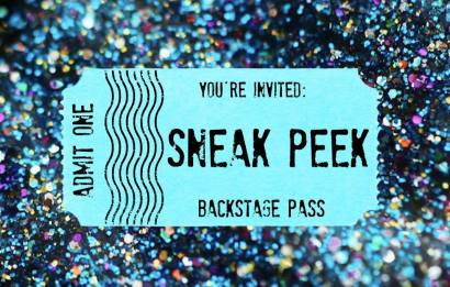 Sneak Peek Backstage Pass