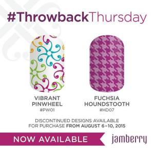 TBT Pinwheel and Fuschia Houndstooth