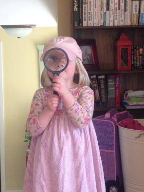 Amelia and the Magnifying Glass